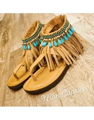 Sandales hippie